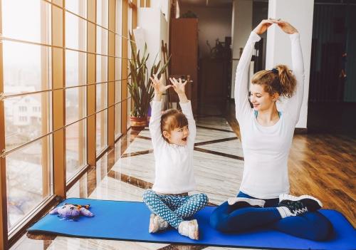Jóga děti a rodiče